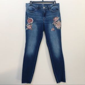 a.n.a. A New Approach Floral Jegging Jeans 10